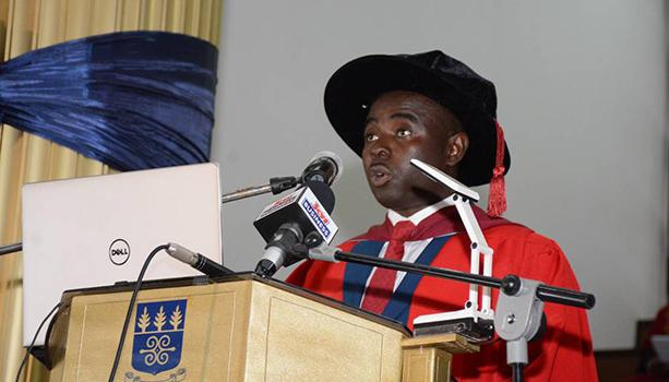 Prof. Abor delivers Inaugural Lecture